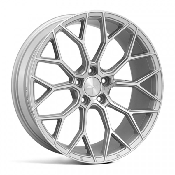 "NEW 19"" VEEMANN V-FS66 ALLOY WHEELS IN SILVER POLISHED, WIDER 9.5"" REARS"